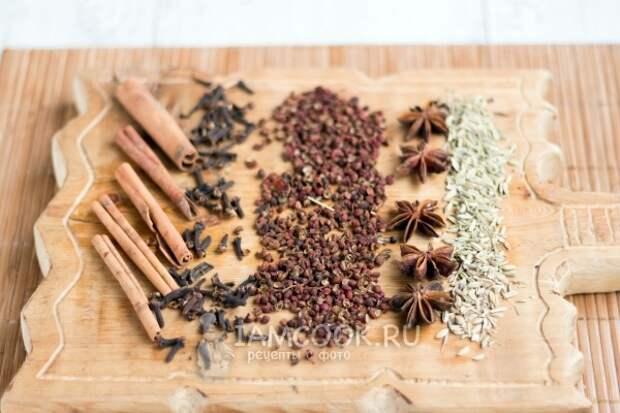 Ингредиенты для усянмянь