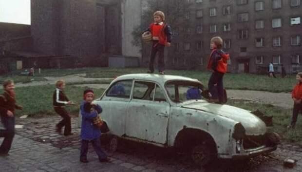 Цветные фотографии жизни Польши в начале 1980‑х