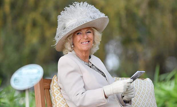 Герцогиня Камилла представила новую открытку со своим участием