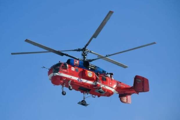 Вертолёты МАЦ начнут мониторинг пожароопасной обстановки в Москве с 1 мая