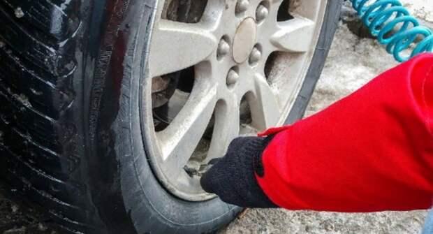 Какое давление должно быть в шинах зимой