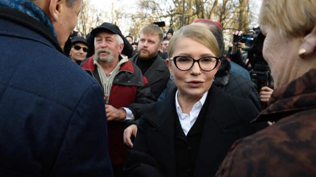 Маски сброшены: Тимошенко обвинила Зеленского в сдаче Украины