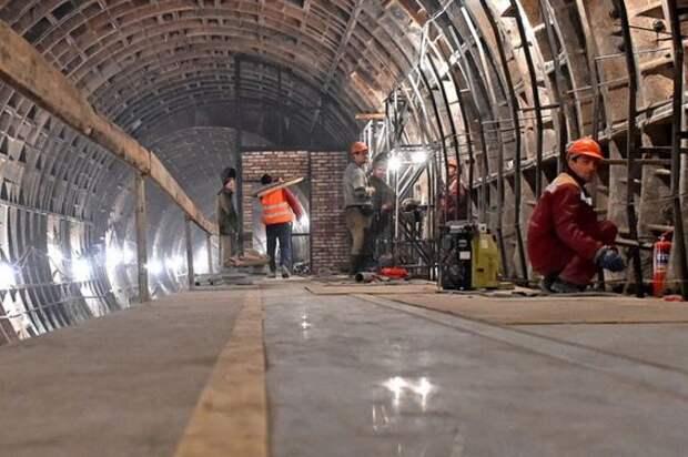 Большой участок БКЛ метро достроят в СЗАО до конца года