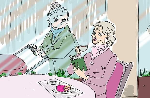 Становясь бабушками, воспитывают и своих детей, и чужих девушки, иностранцы, люди, мнение, русские девушки, факты