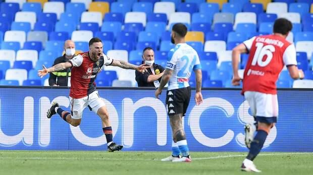 «Наполи» на последних минутах упустил победу над «Кальяри», «Аталанта» Миранчука сыграла вничью с «Сассуоло»