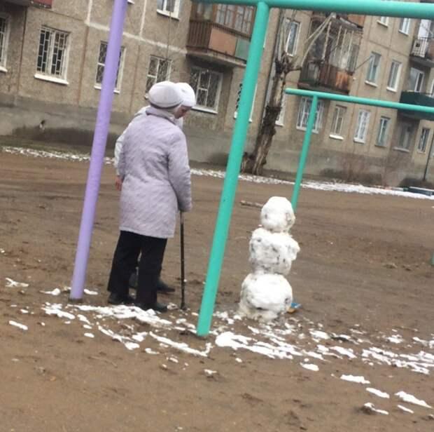 Кто-то искал плюсы апрель, весна, погода, снег, юмор
