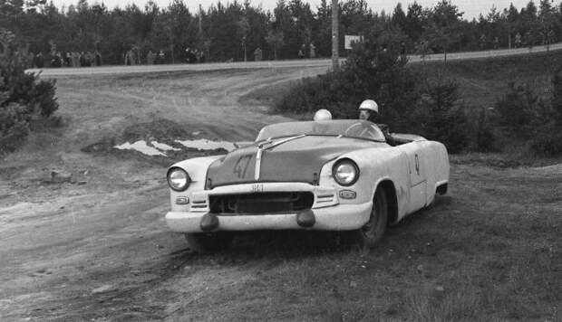 Чемпионат СССР по автогонкам 1956 года (фото)