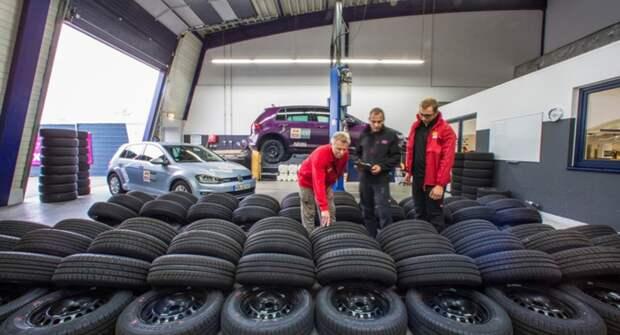 Аналитики объяснили, почему россияне массово скупают летние автомобильные шины