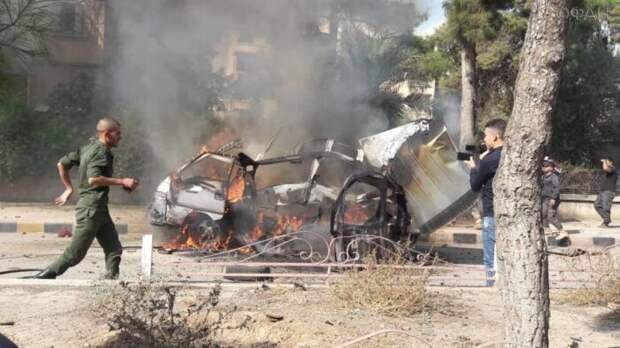 Неизвестные взорвали военный автомобиль курдов в Сирии
