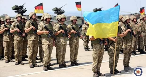 Военные НАТО на Украине. Источник изображения: