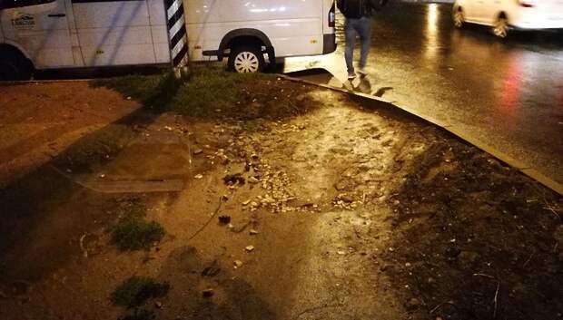 В Подольске отремонтировали тротуар на Молодежной улице по просьбе жителя