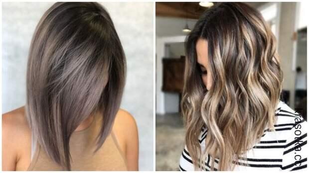Темные волосы и оттенки блондинки: 12 шикарный идей