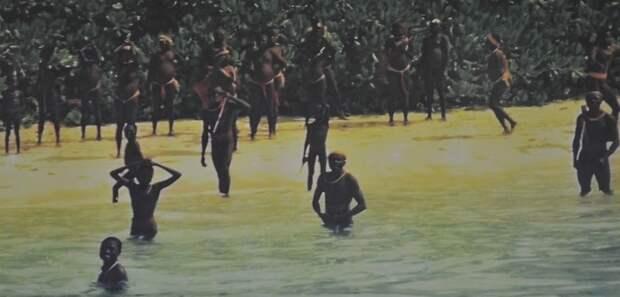 Пассажирам корабля, потерпевшего крушение близ Сентинельского острова пришлось пришлось отражать атаки аборигенов / Фото: dialog.ua