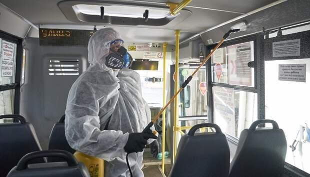 Более 970 транспортных средств проверили на соблюдение дезинфекции в Подмосковье за сутки