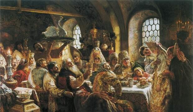 Что ел на обед Иван Грозный