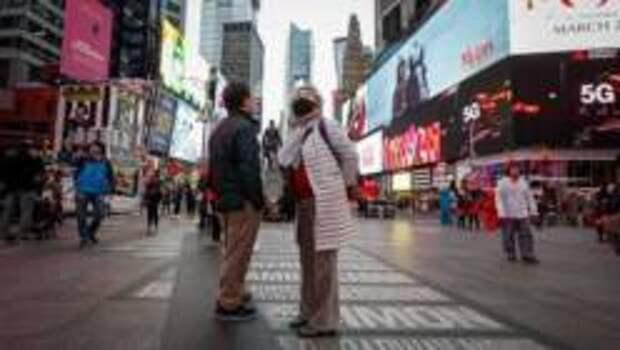 Жителям Нью-Йорка разрешили собираться больше трёх