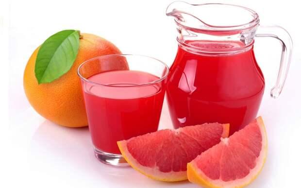 грейпфрут, грейпфрутовый сок