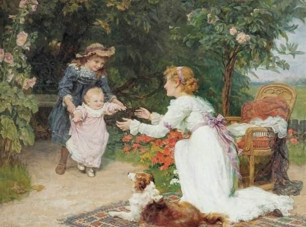 художник Фредерик Морган (Frederick Morgan) картины – 17
