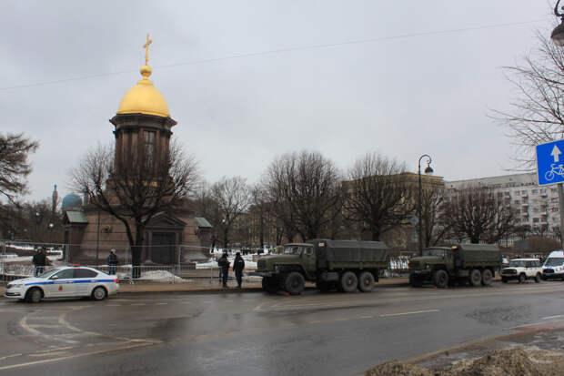 Начало акции либералов сегодня в центре Санкт-Петербурга