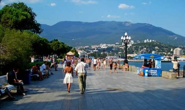 Сколько туристов отдохнуло в Крыму?