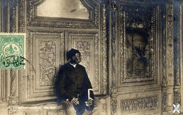 Главный смотритель гарема османского ...