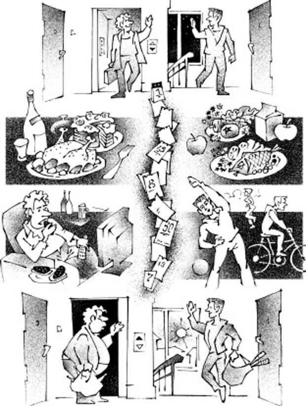Почему мы толстеем? – Все начинается с головы!