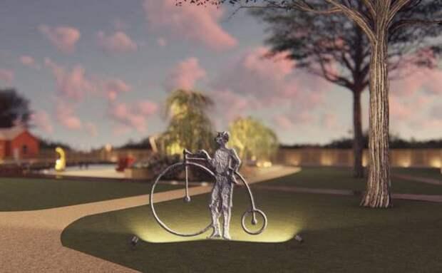 Тульский скульптор поможет благоустроить Гагаринский парк