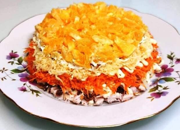 Любимый салат моей мамы «Испанская страсть». Идеальное сочетание компонентов