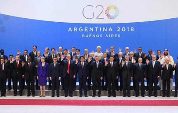 Трамп не пожал руку Путину на  G20