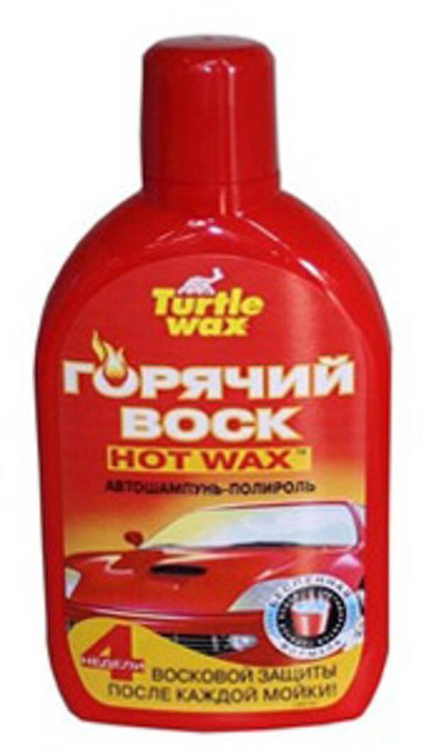 автошампунь-полироль от Turtle