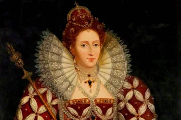 Королева Англии Елизавета Первая