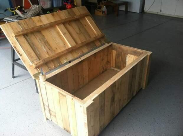 Для тех, кому вечно не хватает места для хранения вещей. /Фото: i.pinimg.com