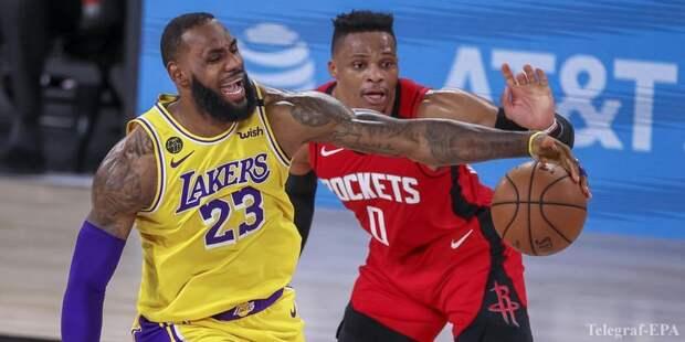 Лейкерс обыграл Хьюстон в четвертом матче серии (Видео) - ТЕЛЕГРАФ