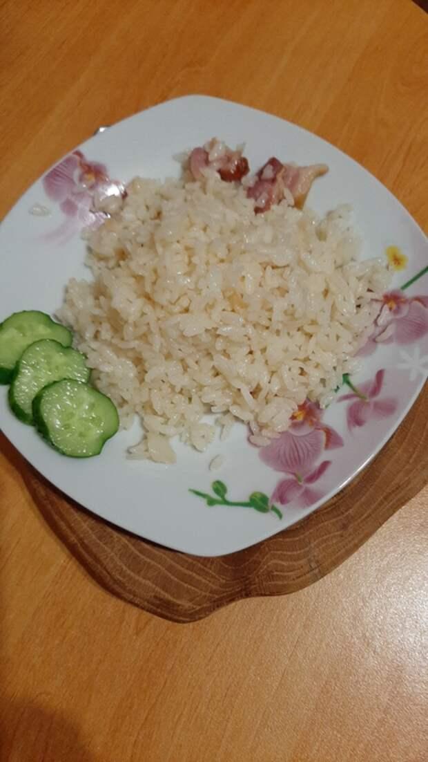 Рассыпчатый рис- объеденье!!!)
