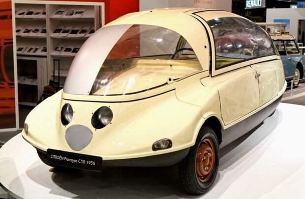 Опытный автомобиль С10 был создан для расширения модельного ряда фирмы Citroёn. 1956 год авто, автодизайн, автомобили, дизайн, интересные автомобили, минивэн, ретро авто