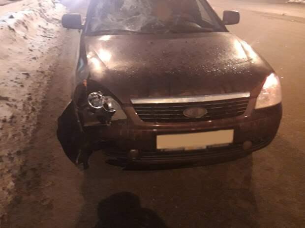 В микрорайоне «Строитель» в Ижевске сбили перебегавшего дорогу подростка