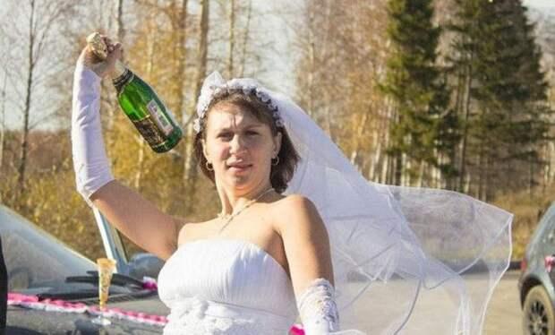 Забавные свадебные фотографии (38 фото)