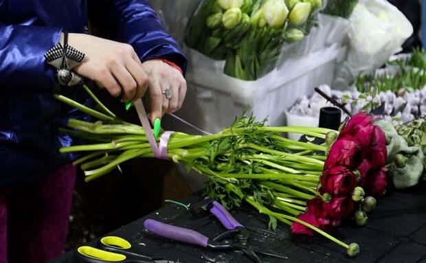 ФТС ответила на сообщения о дефиците цветов в преддверии 8 марта