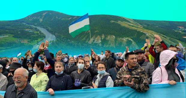 Башкирские активисты отстояли гору: на Куштау запретили добычу сырья