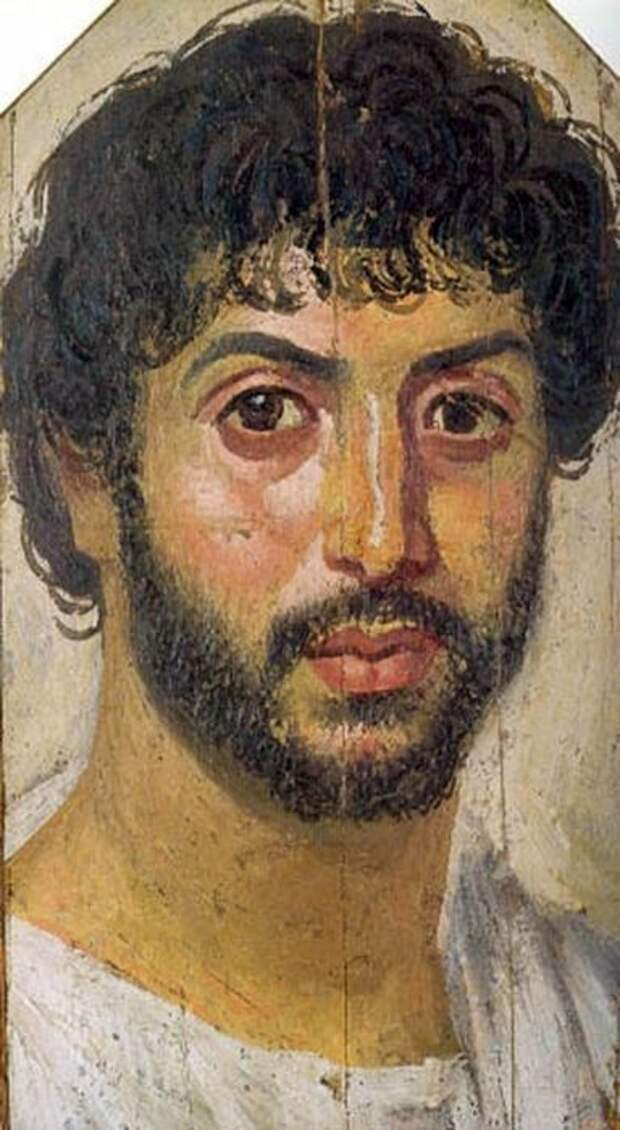 Портреты фаюмских мумий (Египет, I - III вв.)