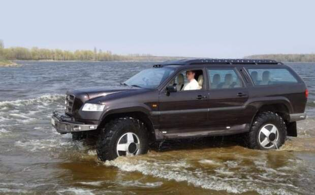 «Бизон» — самодельный внедорожник на базе ГАЗ-66