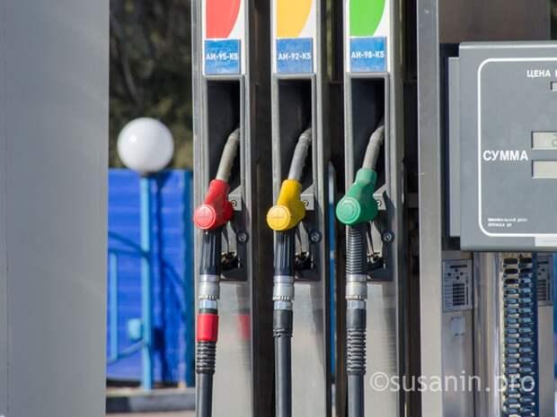 Бензин в Удмуртии подорожал на 17 копеек