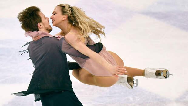 Синицина и Кацалапов выиграли произвольный танец на командном чемпионате мира
