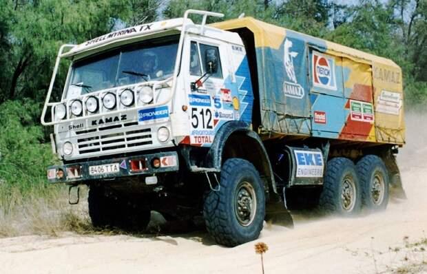 Как КАМАЗ стал фаворитом гонок «Дакар» и живой легендой среди спортивных грузовиков