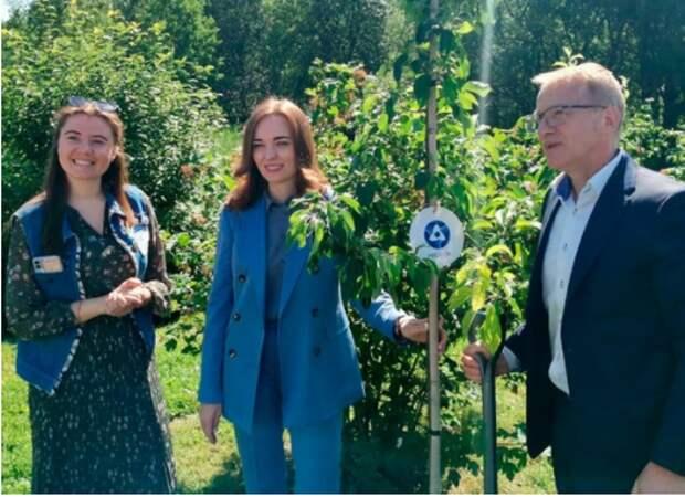 В Марфине открылся новый сад памяти ученых