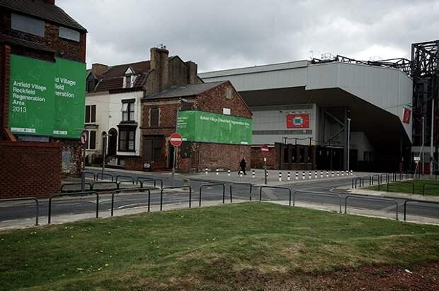 Эти дома продаются за 1 евро при условии их полного восстановления в первозданном виде (Ливерпуль, Великобритания). | Фото: Liverpoolfc.ru.