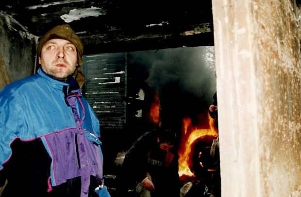 Фотографии со съемок фильма «Чистилище» (1997)