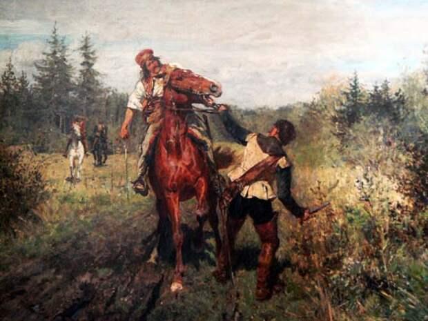 Вельтен Вильгельм, конец XIX-начало ХХ века, «Разбойник»