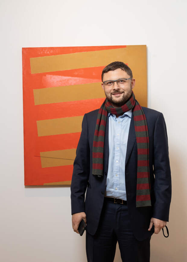 Андрей Малахов и другие гости открытия пространства Alina Pinsky Gallery