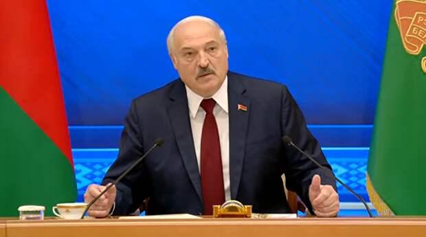 Лукашенко о признании Крыма